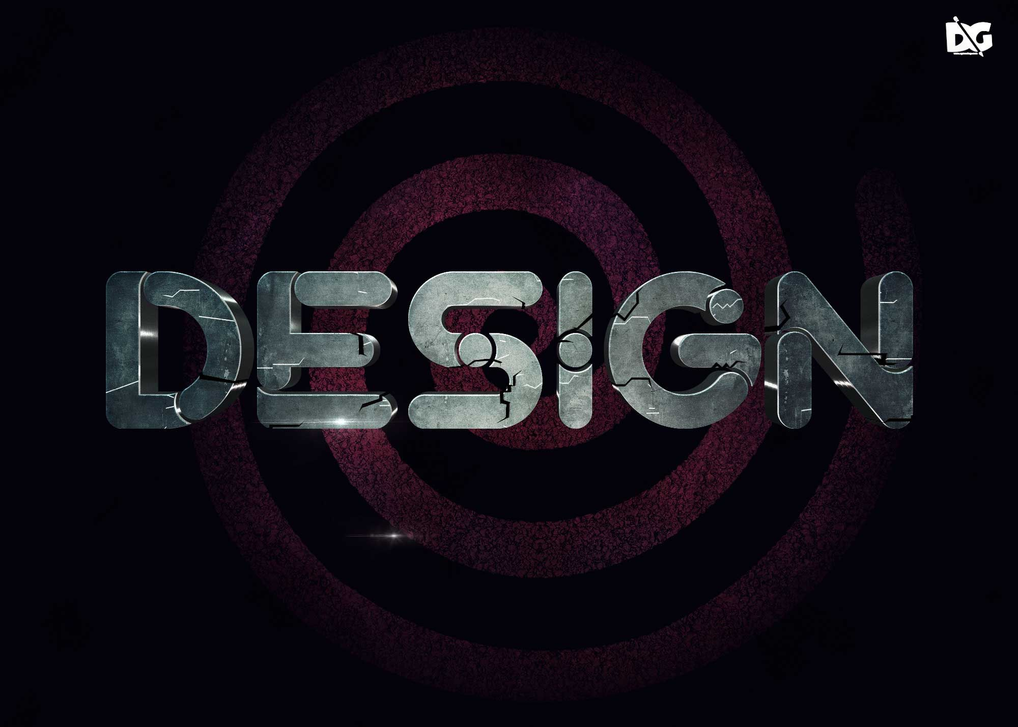 Latest Stone Text Effect PSD for Designers #DownloadEffect