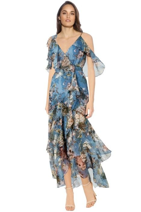 7a466e383fb0 Arielle Floral Wrap Maxi Dress in 2019 | Florals | Maxi wrap dress ...