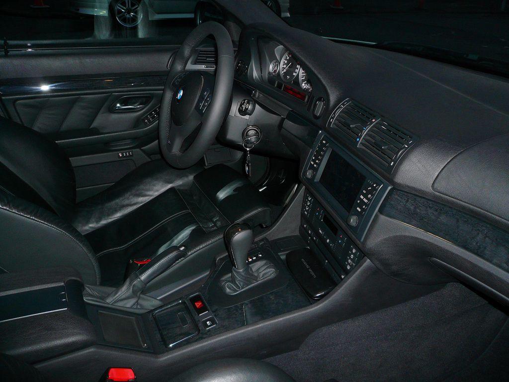 E39 Birch Anthracite Trim Light Birch Sport Seats Bmw E38