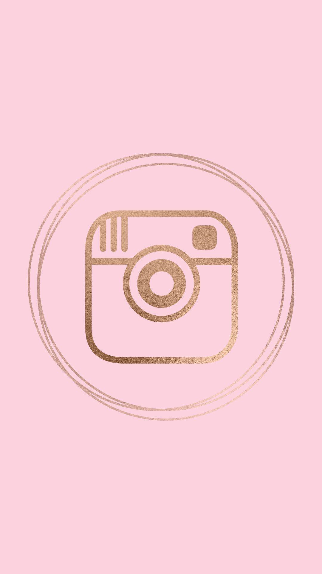 Pink Instagram Logo : instagram, CraftsandHobbyCo/Instagram, Instagram,, Instagram, Logo,, Highlight, Icons