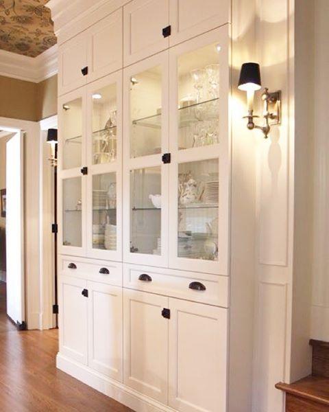 +IKEA Billy Bookcase Hack! Love it! theivorydoor ivory