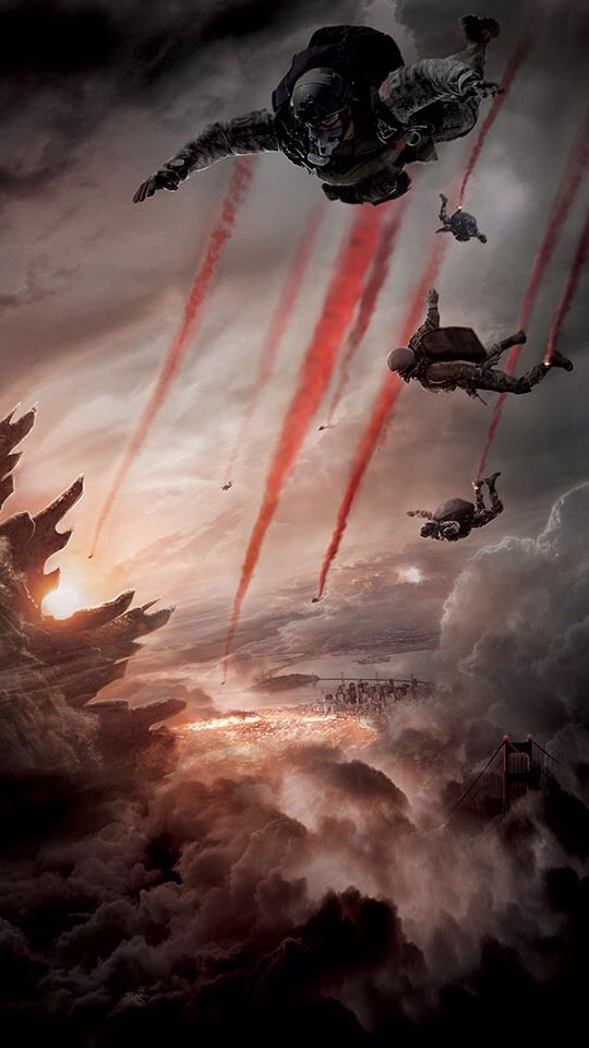 Godzilla IPhone 5 wallpaper HDRetina Godzilla 2014