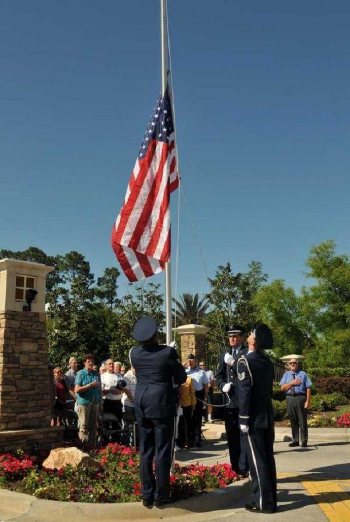 Host a FLAG-RAISING CEREMONY