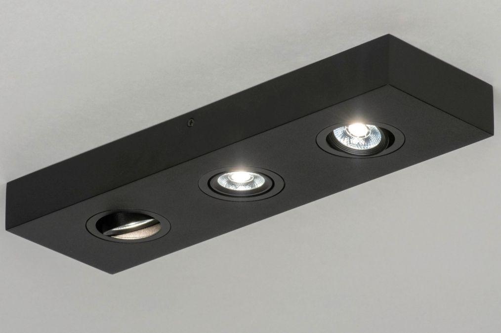 Spot 73302 Design Modern Aluminium Metaal Lampen Spotjes Plafondlamp Slaapkamer Plafond Verlichting