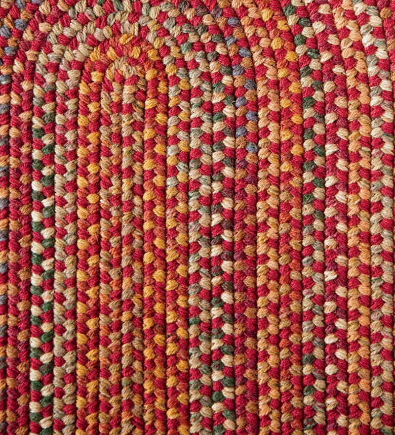 Blue Ridge Wool Blend Braided Rugs Made In Usa Plow