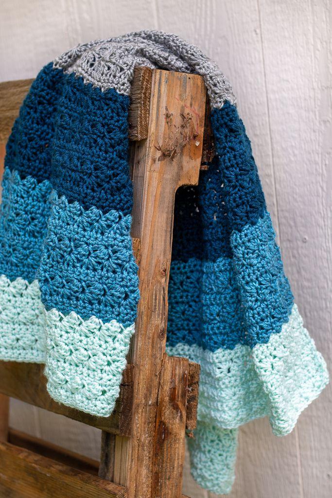 Photo of Free Crochet Baby Blanket Pattern