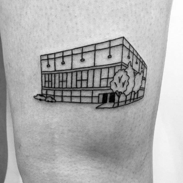 70 The Office Tattoos For Men - Dunder Mifflin Design Ideas