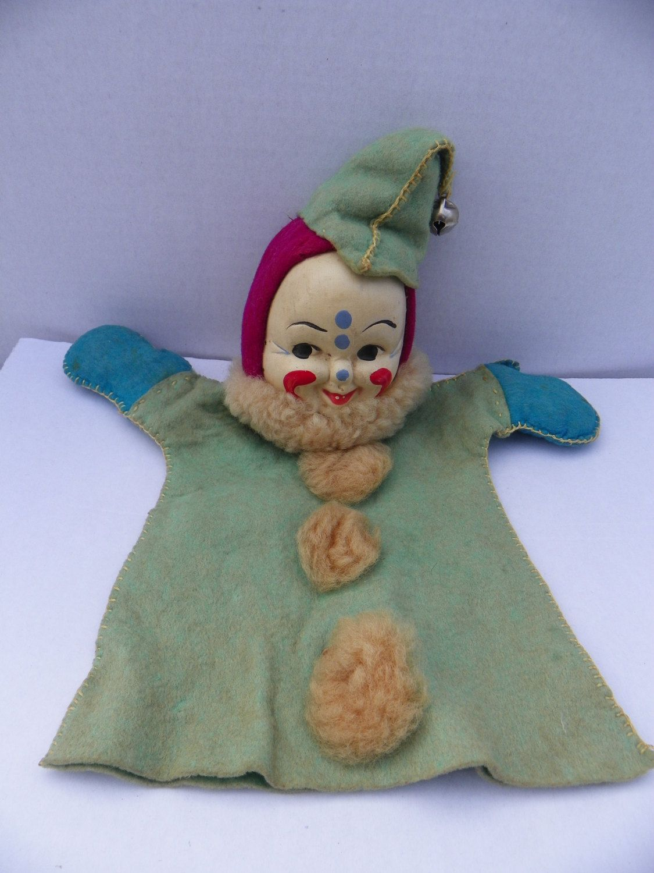 Creepy Antique Clown Doll