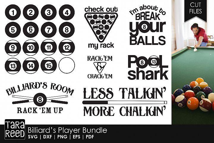 Download Billiards Player Bundle   Billiards, Bundles, Free design ...