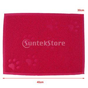 Pet mat dusting pad puppy plastic door anti-slip waterproof mat: 98033272: stk shop-mail order-yaho …