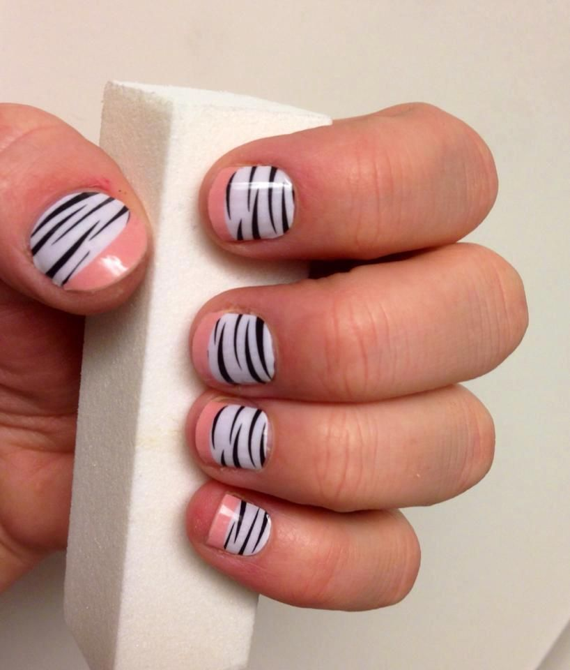 Jamberry nail wraps on actual hands! No chipping, fading or cracking ...