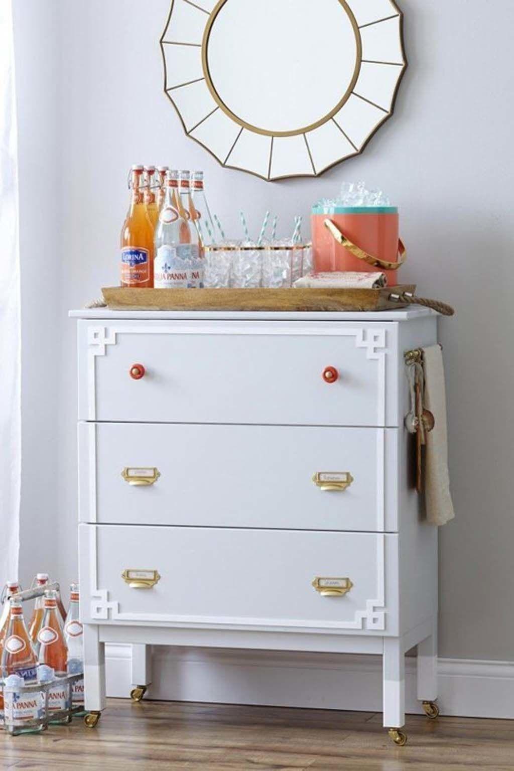 Bricolaje Tunear Muebles Ikea Top Ideas Para La Cmoda Rast De  # Muebles Tuneados