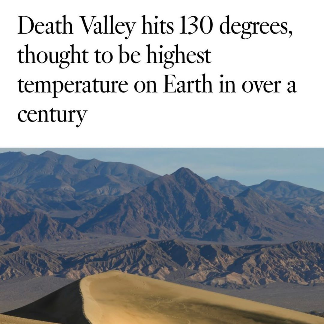 Los Angeles Times Latimes Posted On Instagram Aug 17 2020 At 1 05pm Utc In 2020 Earth Death Valley Science