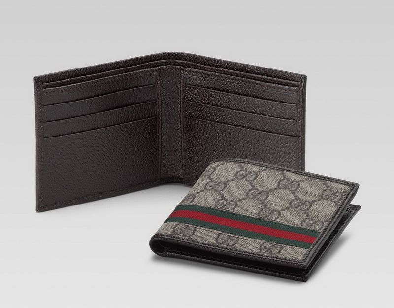 949068af2 Of the price is expensive, of course, Gucci wallet for men have a very good  quality. Some types of Gucci wallet for men have more pockets for cash and  cards ...