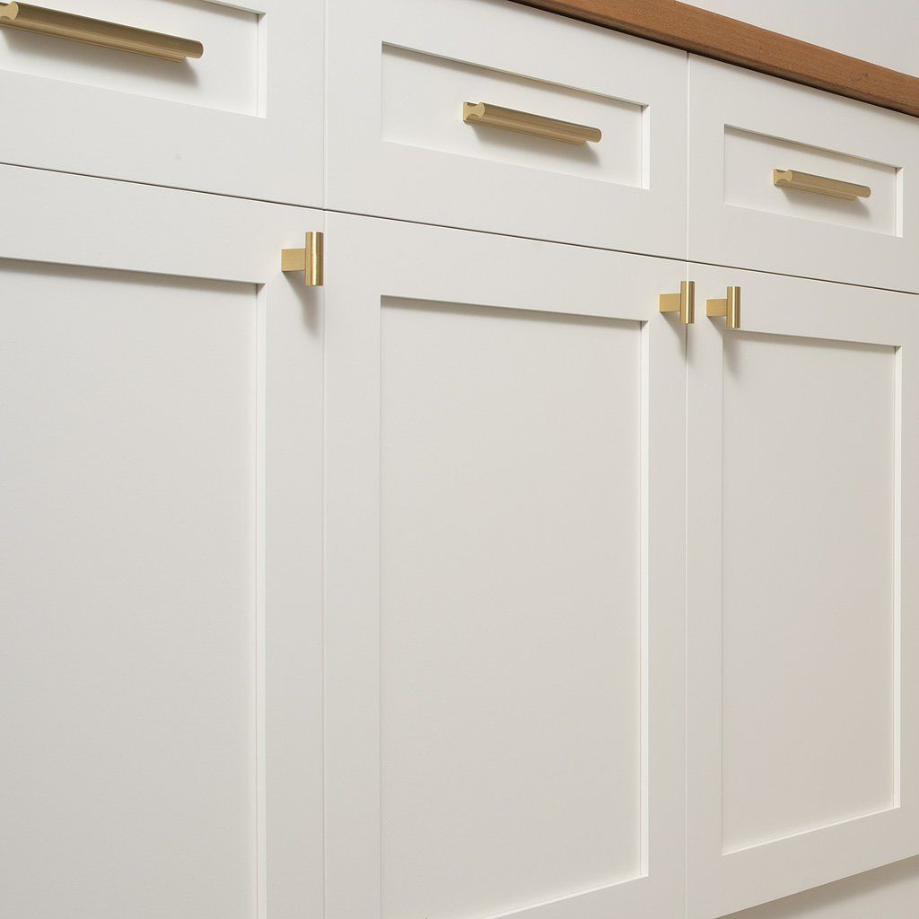 Midvale Pull Natural Brass Kitchen Cabinet Pulls Kitchen Handles Kitchen Cabinets