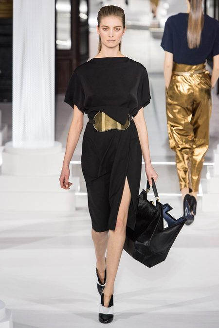 vionnet fall 2013 nod to a ionic chiton with quarter