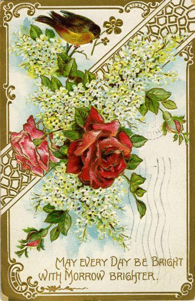 vintage spring postcards wwwpixsharkcom images