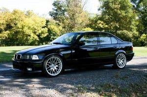 Bmw E36 Black Sedan Cars Bmw E36 Bmw Cars
