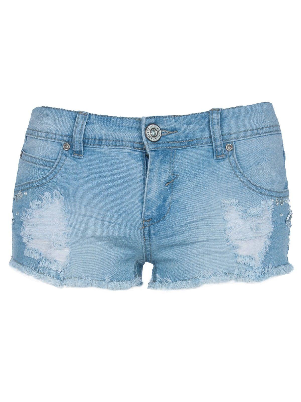 Hot Pant Denim Shorts