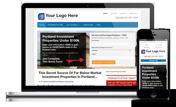 Real Estate Investor Websites Real Estate Investor Website - Real estate investor website templates