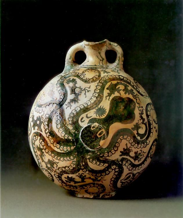 The Octopus Vase Minoan One Of My Most Favorite Pieces