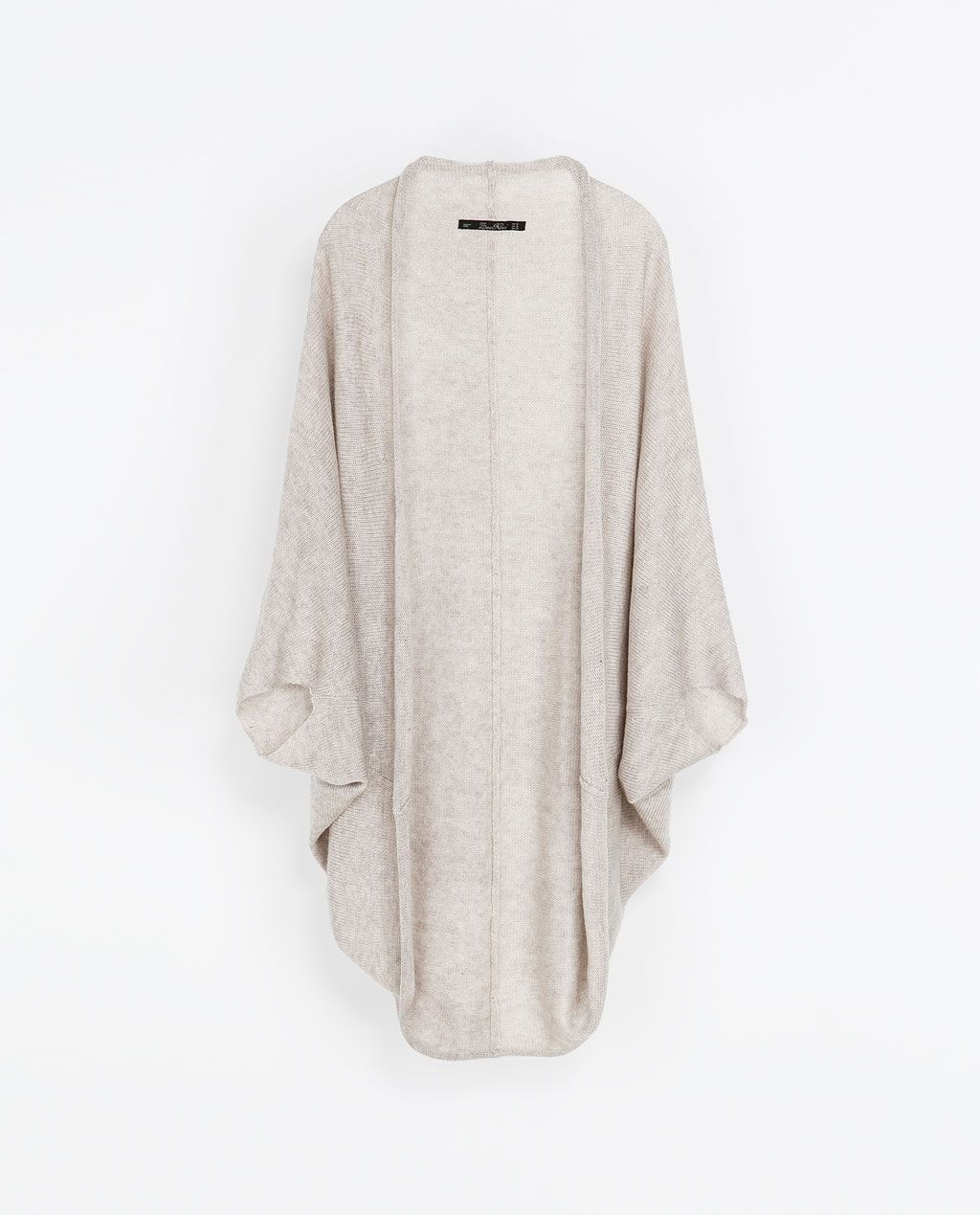 LONG WRAPAROUND CARDIGAN from Zara $16.99 | Fabulous finds under ...