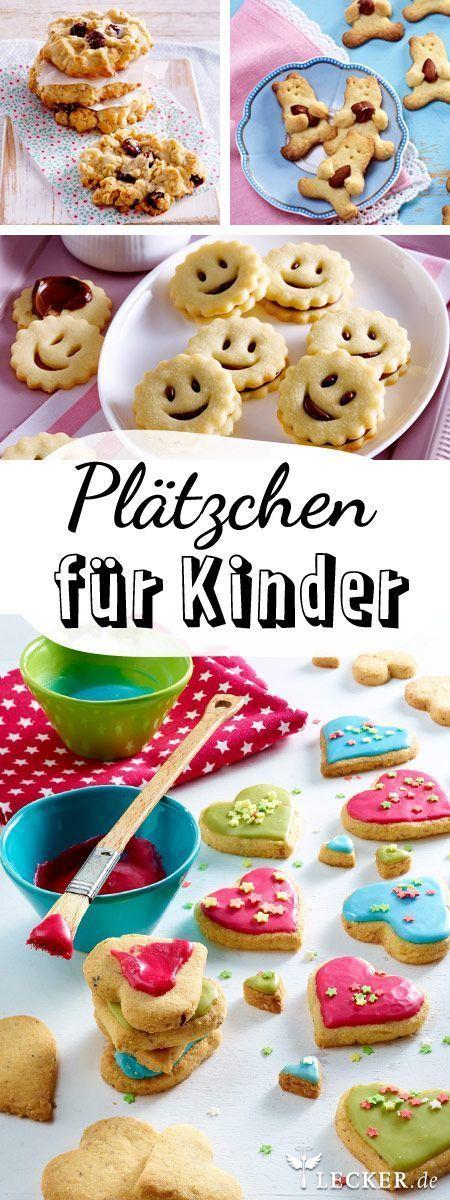 Plätzchen backen mit Kindern - Rezepte und Tipps   Pinterest ...