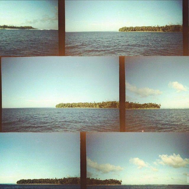 Ilhas a perder de vista no arquipélago das Mentawaii na Indonésia. Paraíso do surf!