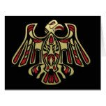 Pacific Northwest Black and Gold Thunderbird Icon Card  Pacific Northwest Black and Gold Thunderbird Icon Card  $11.95  by MemoryLaneDesigns  . More Designs http://bit.ly/2g9LYfi #zazzle