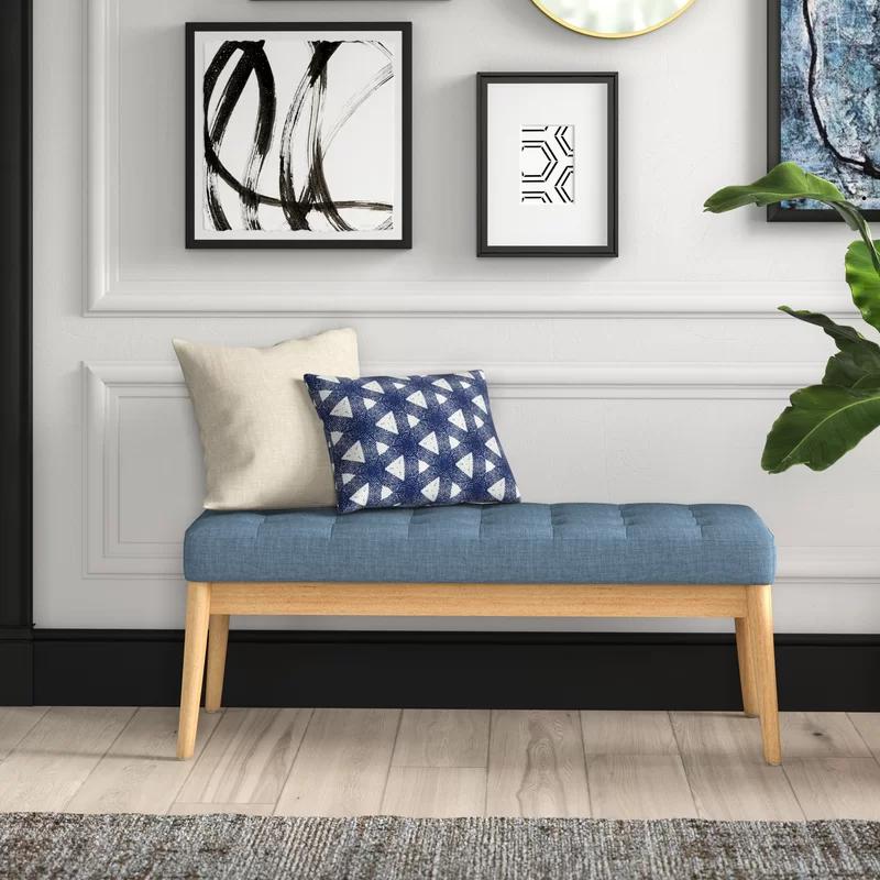 Krieg Upholstered Bench In 2020 Living Room Seating Upholstered Bench Upholstered Bedroom #upholstered #bench #for #living #room
