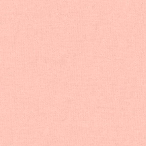Kona Cotton - Dusty Peach K001-1465 - by Robert Kaufman - Sold by the Yard and Cut Continuous - In S