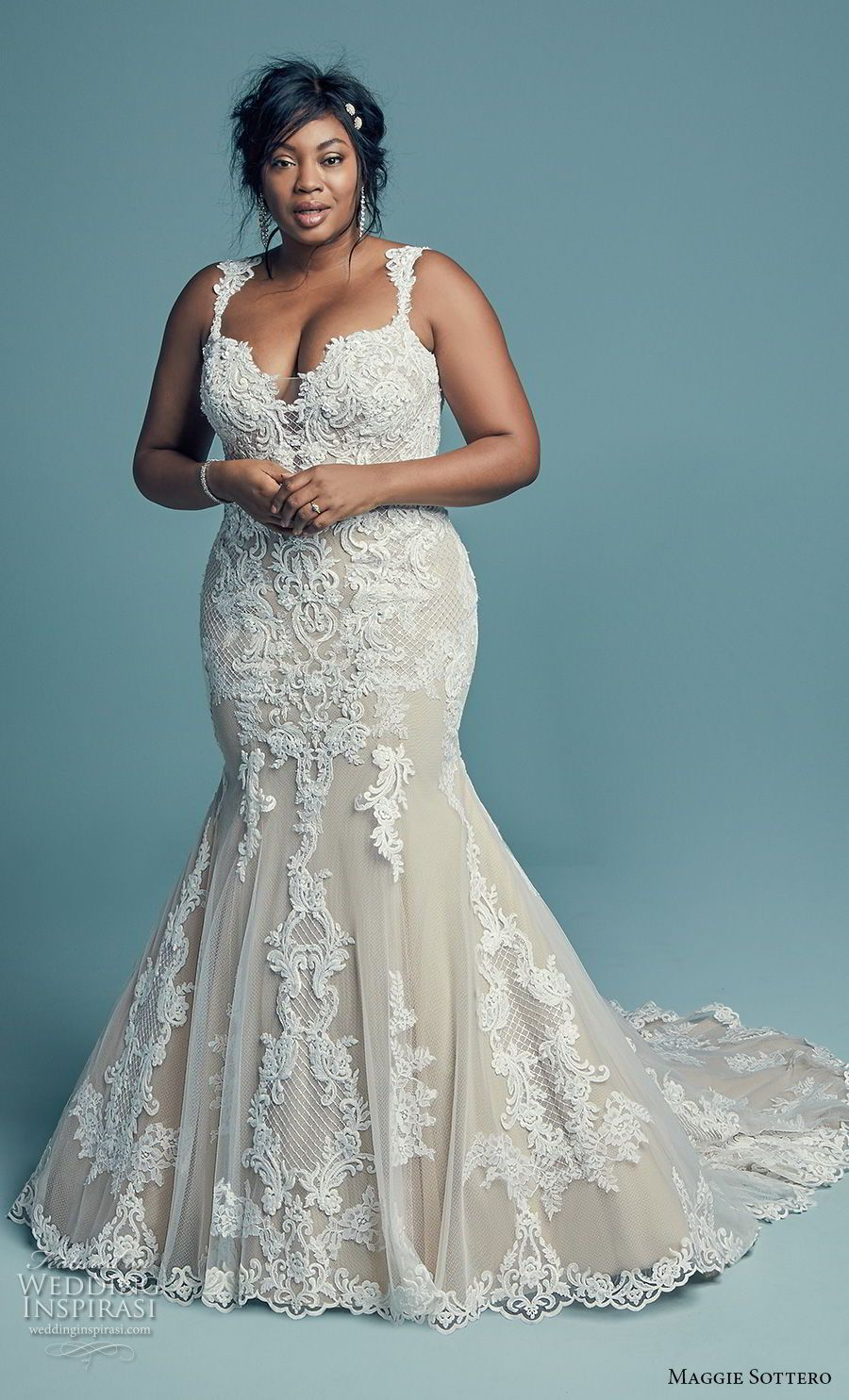 """Maggie Sottero Fall 2018 Wedding Dresses — """"Lucienne"""" Bridal ..."""