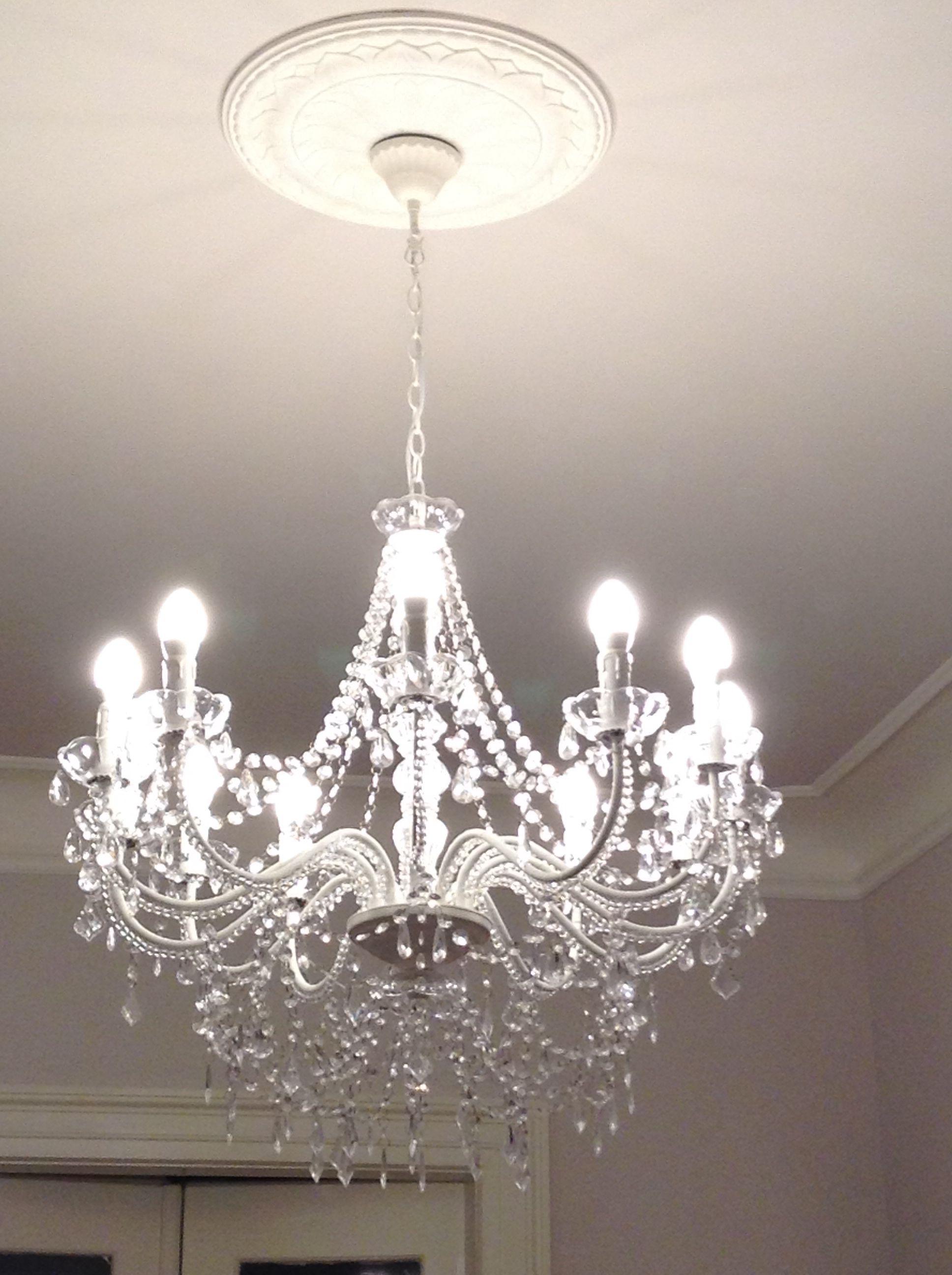 Il mio nuovo lampadario a gocce maison du monde ingresso pinterest lights and house - Chandelier maison du monde ...