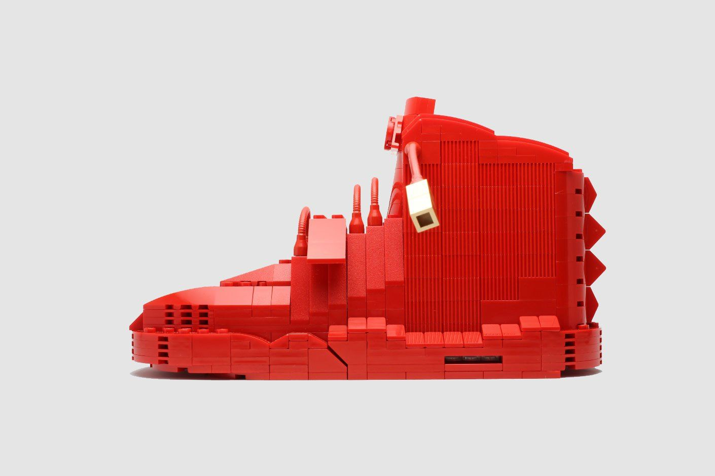 You Can Now Purchase Your Own Lego Sneaker Collectible Sneaker Art Lego Sneakers Illustration