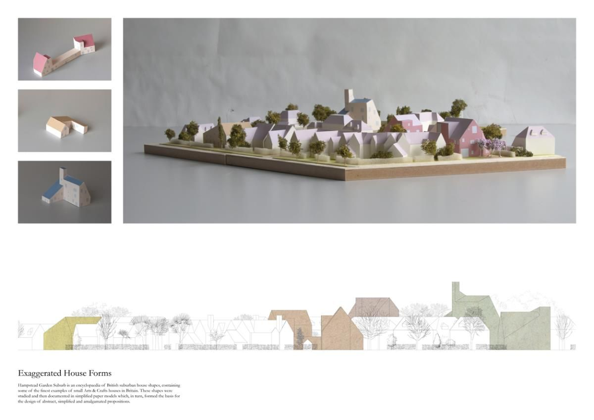 Outer City Settlement Reassessing The Suburban Situation Of Hampstead Garden Suburb Architecture Portfolio Layout Layout Architecture Portfolio Design Layout