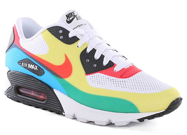 best service 0ff17 e0f7a Nike Air Max 90 inspired by Olympic ring colors