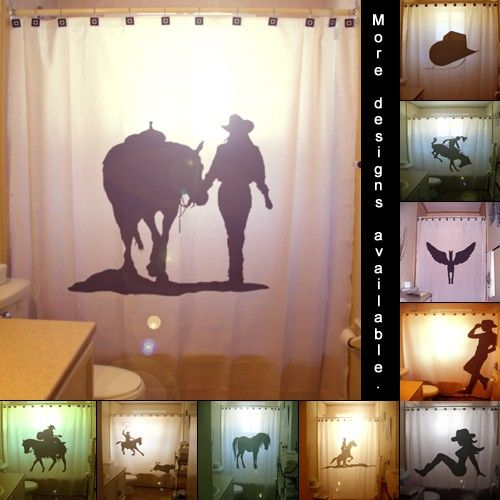 shower curtain | Home. | Pinterest | Westerns, Western decor and House