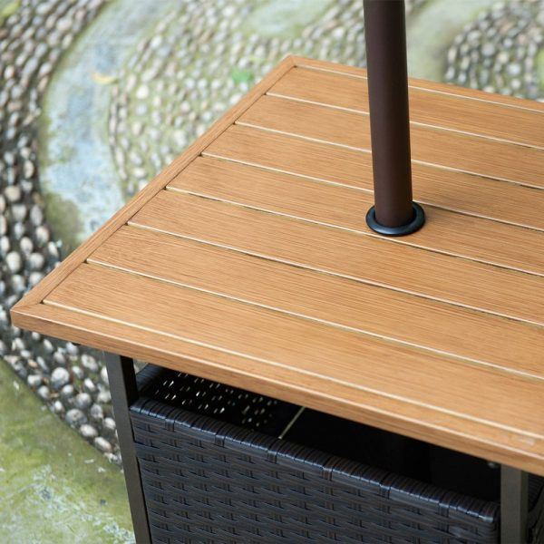 Small Patio Table With Umbrella Hole Http Www Nowsignal Stand Products Pinterest
