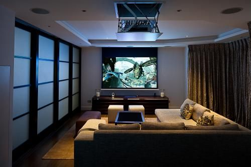 Dark And Cozy Home Cinema Feng Shui Pinterest