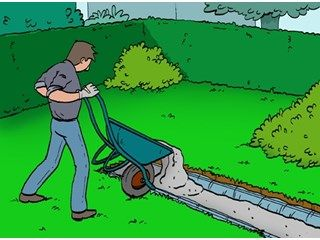 Bekisting voor beton maken livios bekisting - Construire une terrasse en beton ...