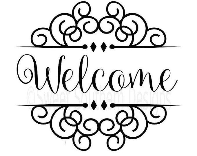 Download Welcome SVG instant download design for cricut or ...