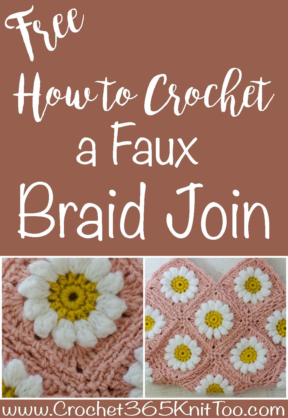 Faux Braid Join - Daisy Mae Bag CAL Part 2 | Crochet > Stitchionary ...