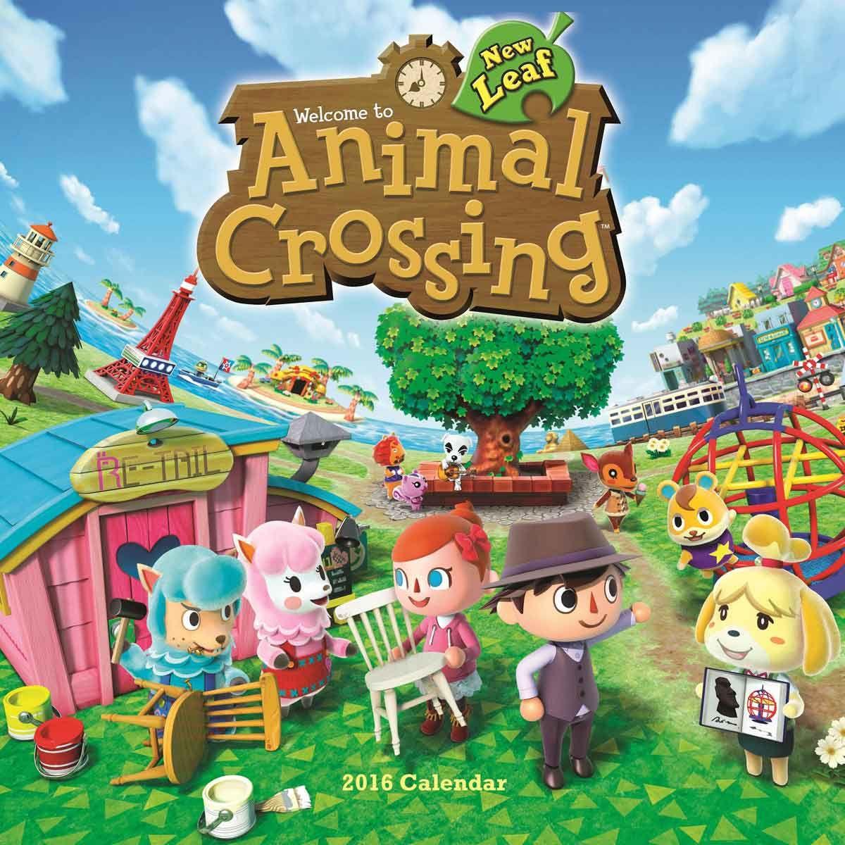 Animal Crossing Calendar 2016 Animal crossing, Animal
