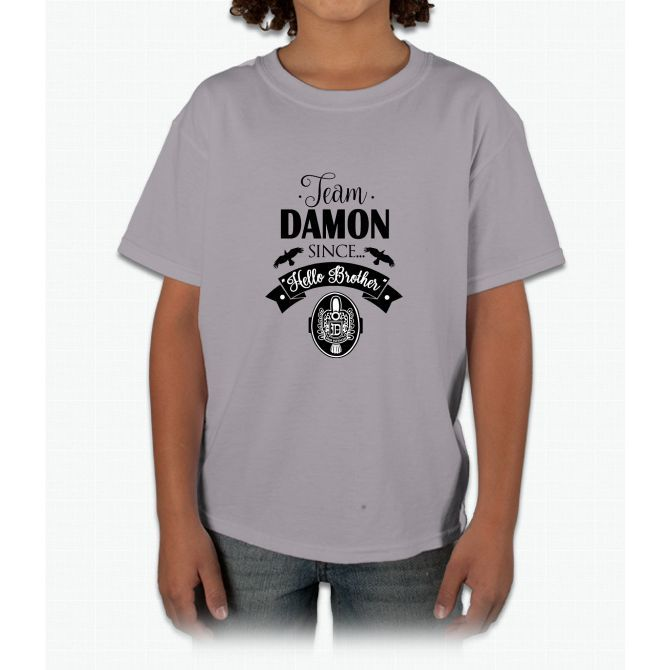 Team Damon. TVD. Young T-Shirt
