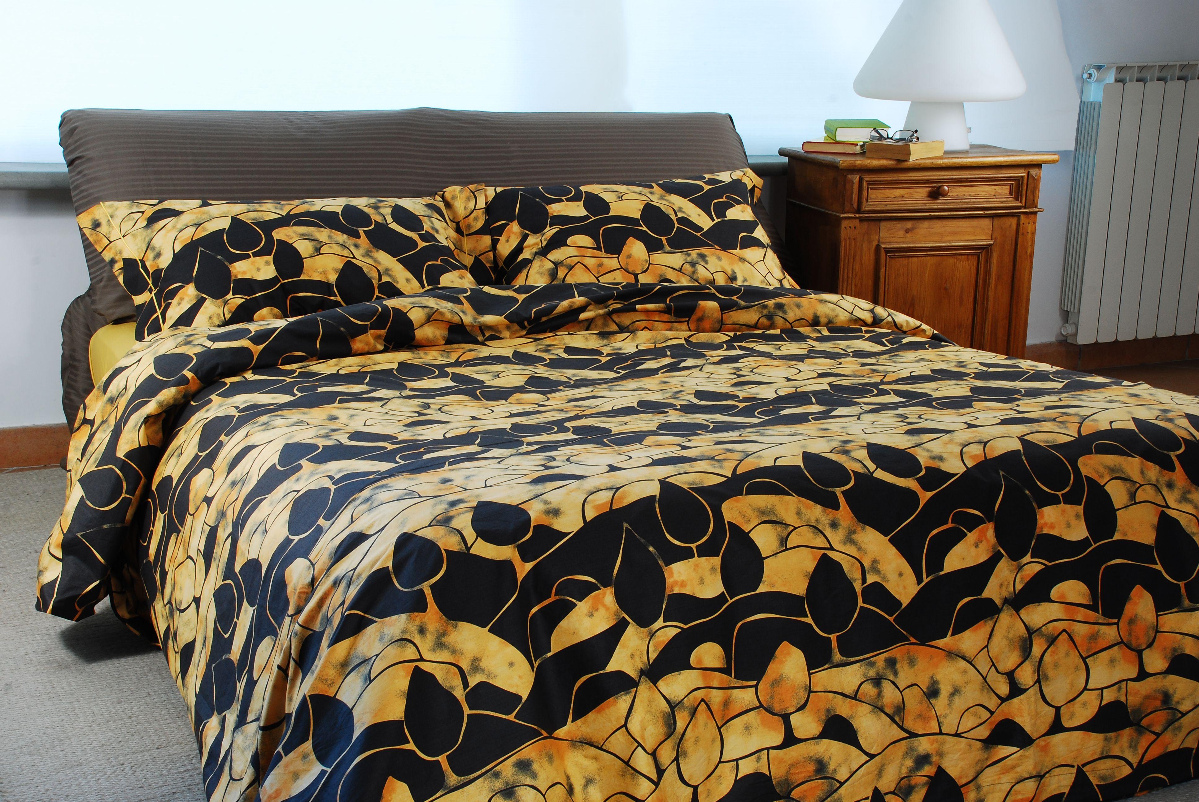 Copripiumino Color Oro.Dune Oro Metropolitan Black Gold Lo Stile Moderno Di Questo