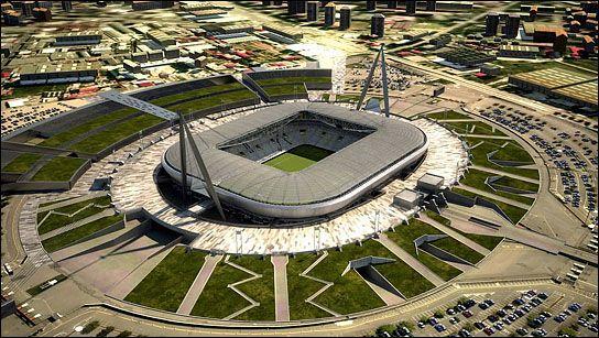 Juventus Stadium In Torino, Italy. Juventus Turin Stadion