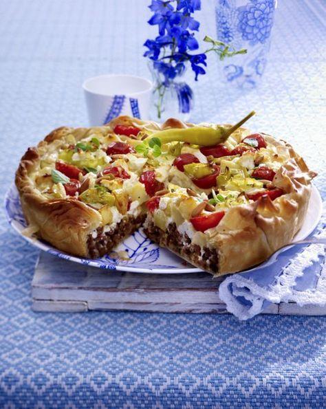 Kartoffel Bilder Kostenlos griechischer kartoffel hack kuchen rezept griechische