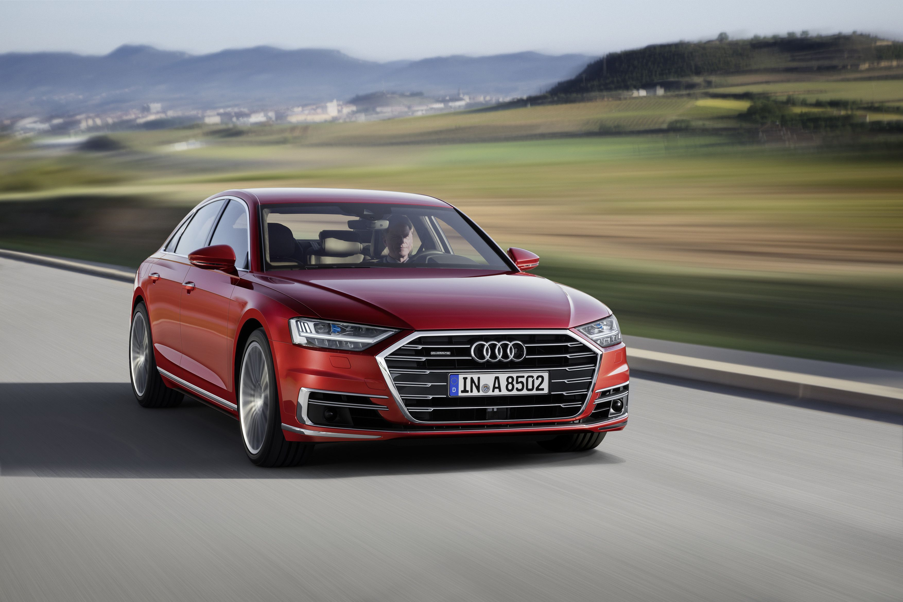 Neu Audi A8 2018 D5 Schmaler Langer Schneller Alles