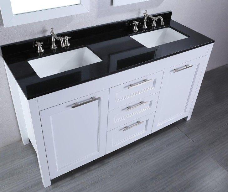 Bathroom Vanities Minimalist Modern Undermount Bathroom Sink
