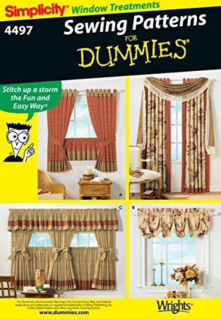 Simplicity Sewing Pattern 4497 Home Decorating One Size